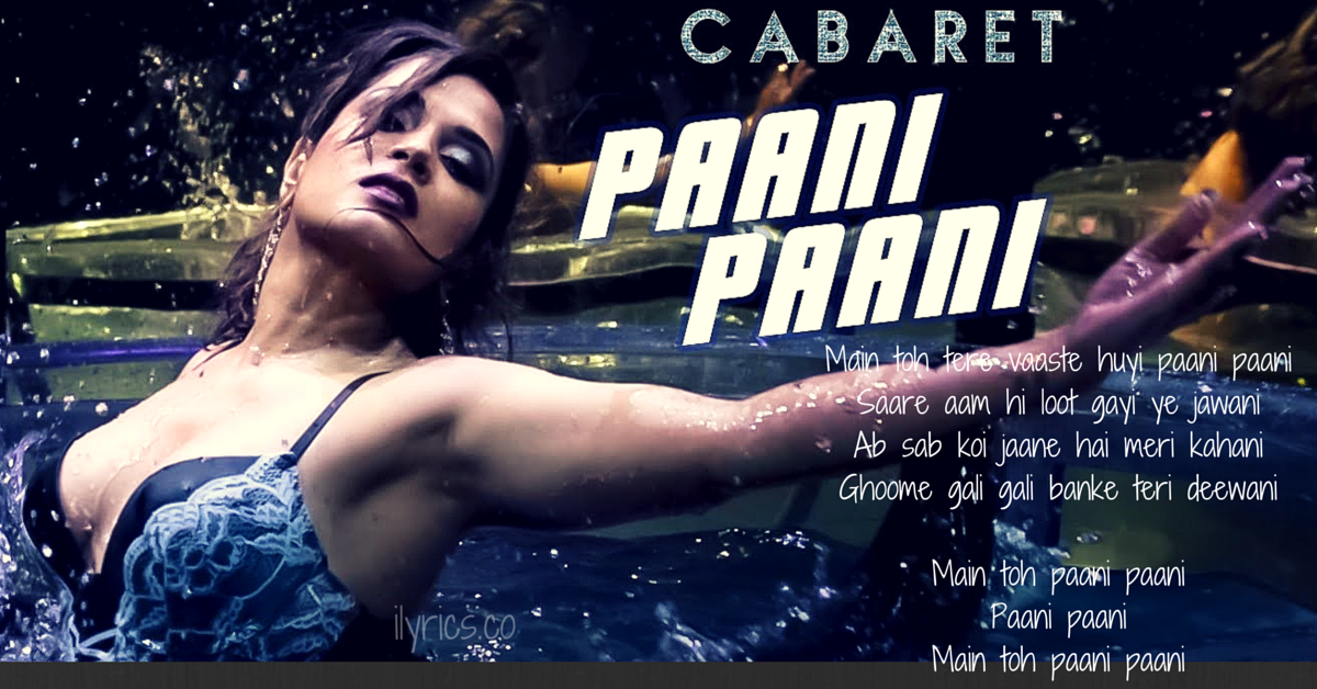 Paani Paani Lyrics