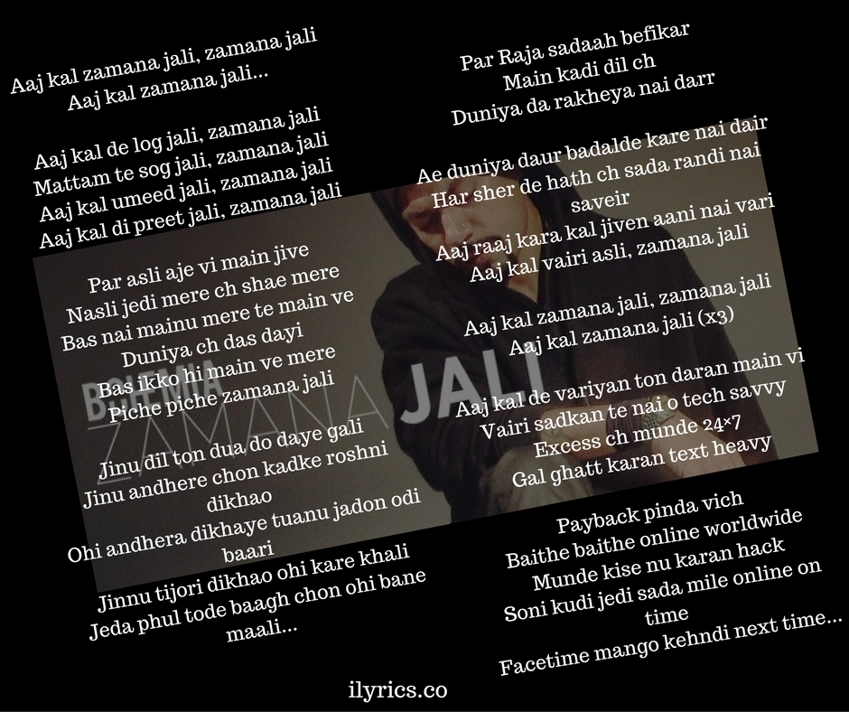 zamana-jali-lyrics