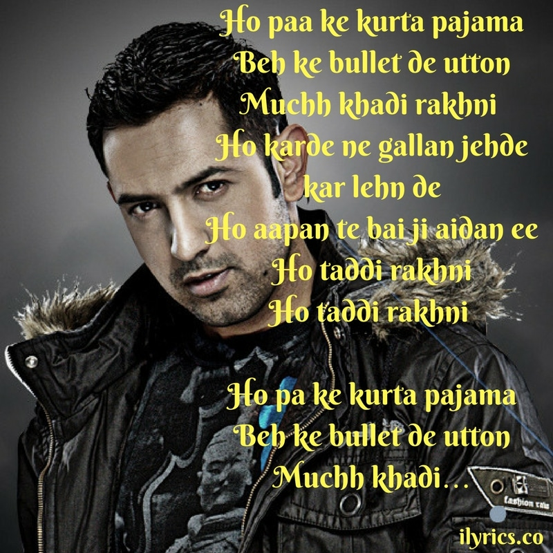 jatt attitude lyrics