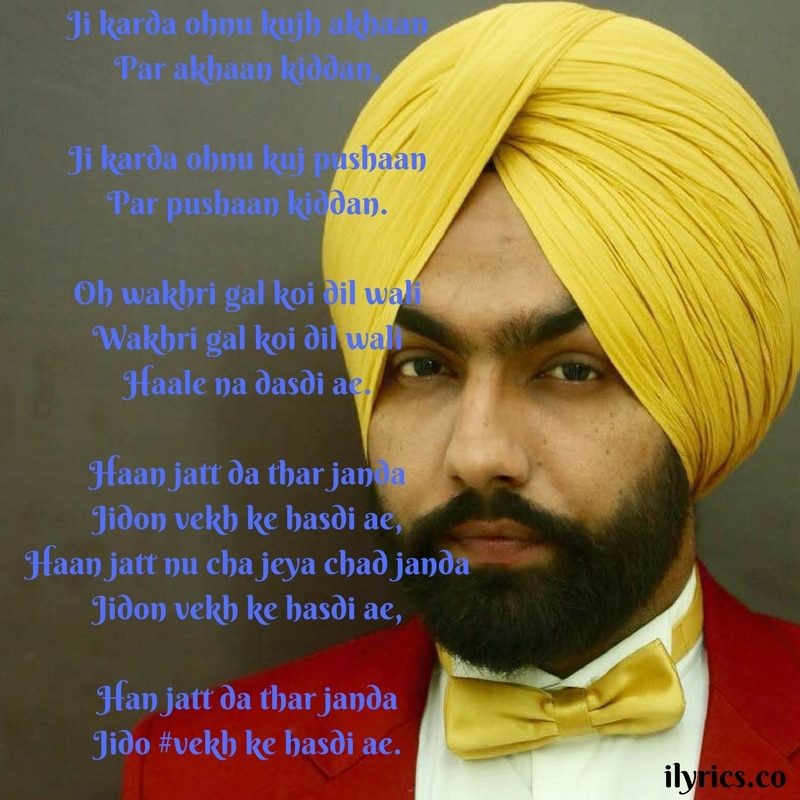 vekh ke hasdi lyrics