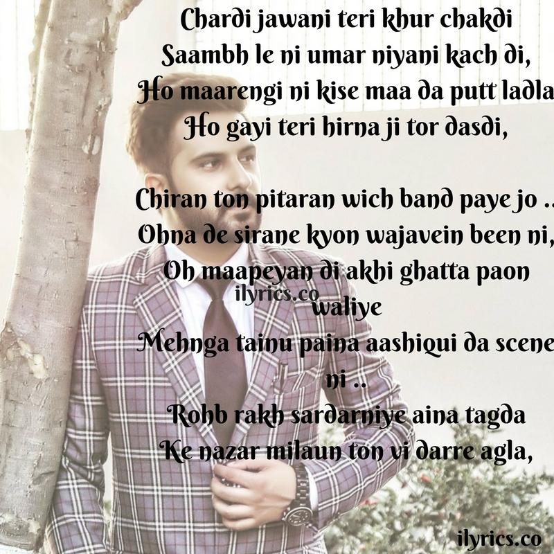 aashiqui da scene lyrics