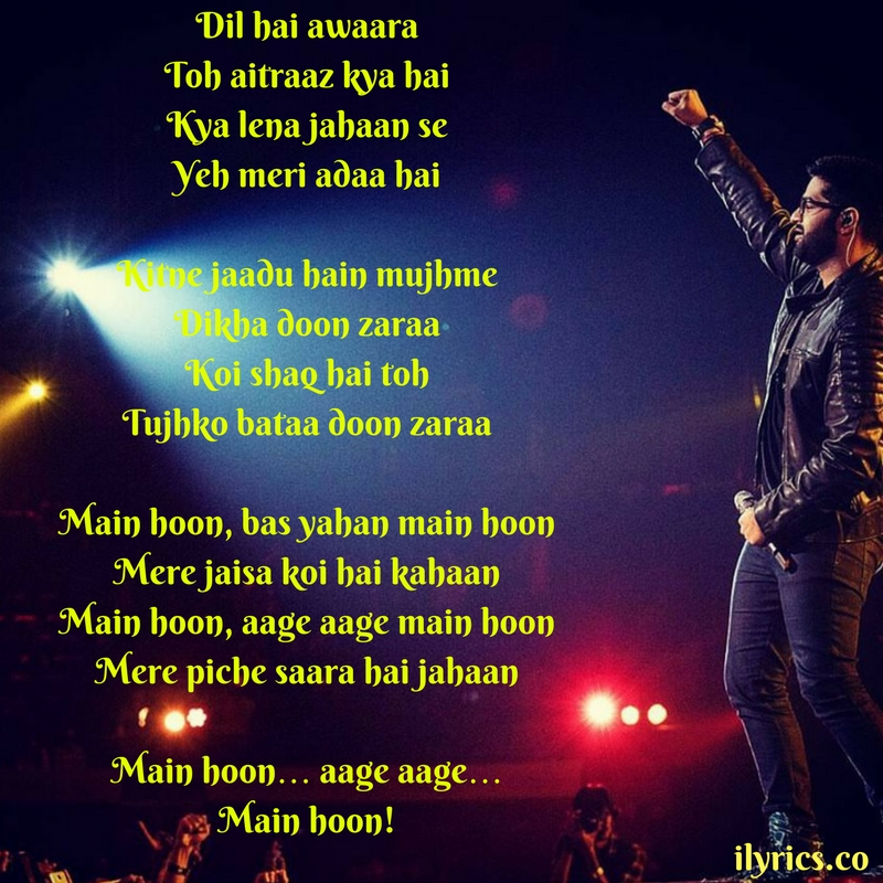 main hoon lyrics