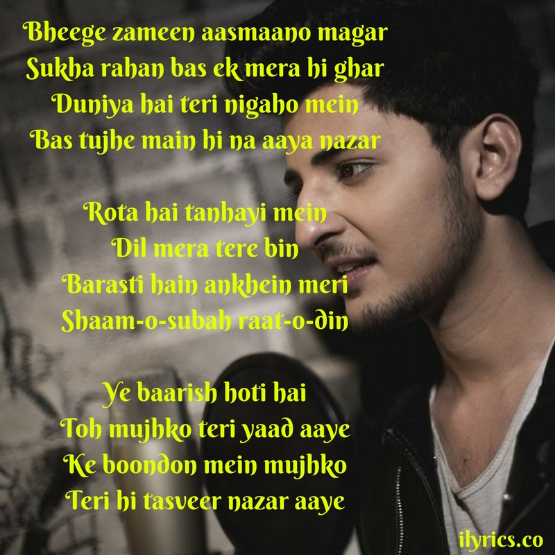 ye baarish Lyrics