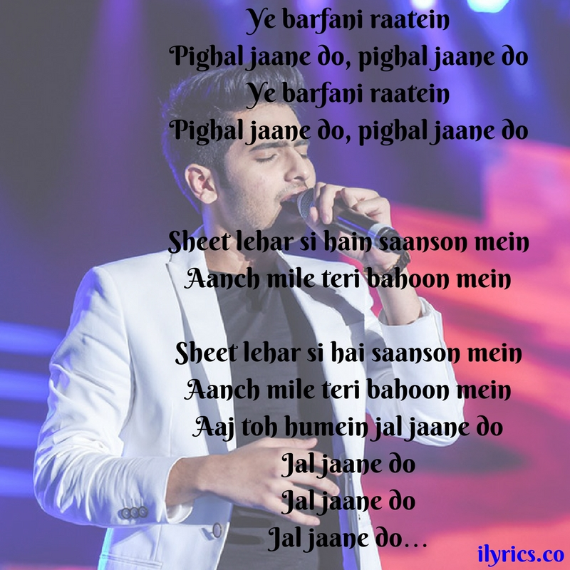barfani lyrics