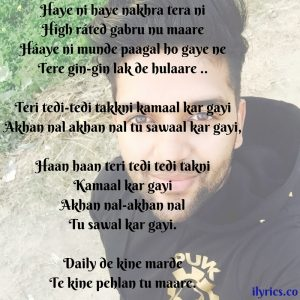 high rated gabru lyrics