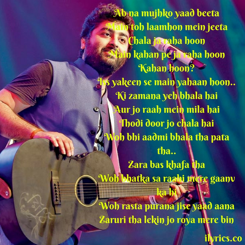 safar lyrics