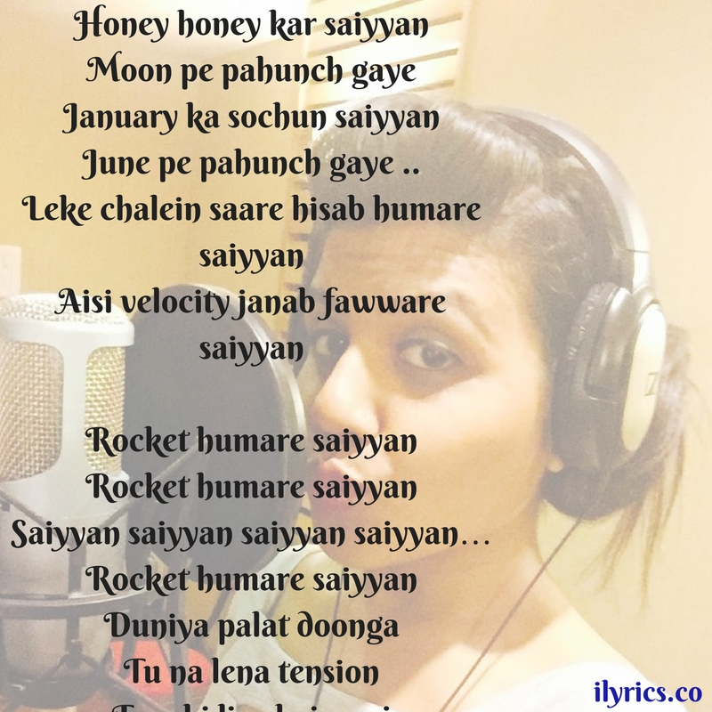rocket saiyyan lyrics