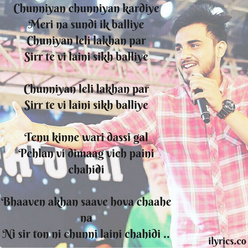 chunni-lyrics
