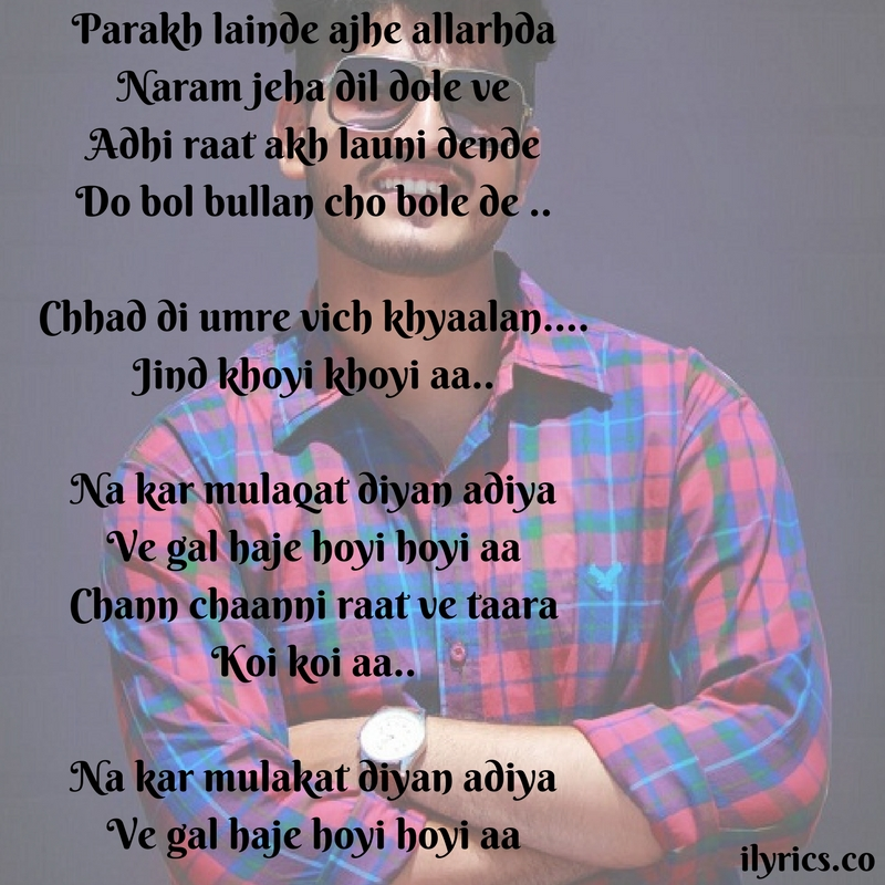 mulaqat lyrics