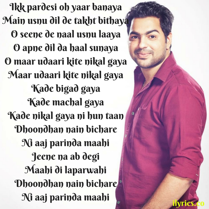parinda lyrics