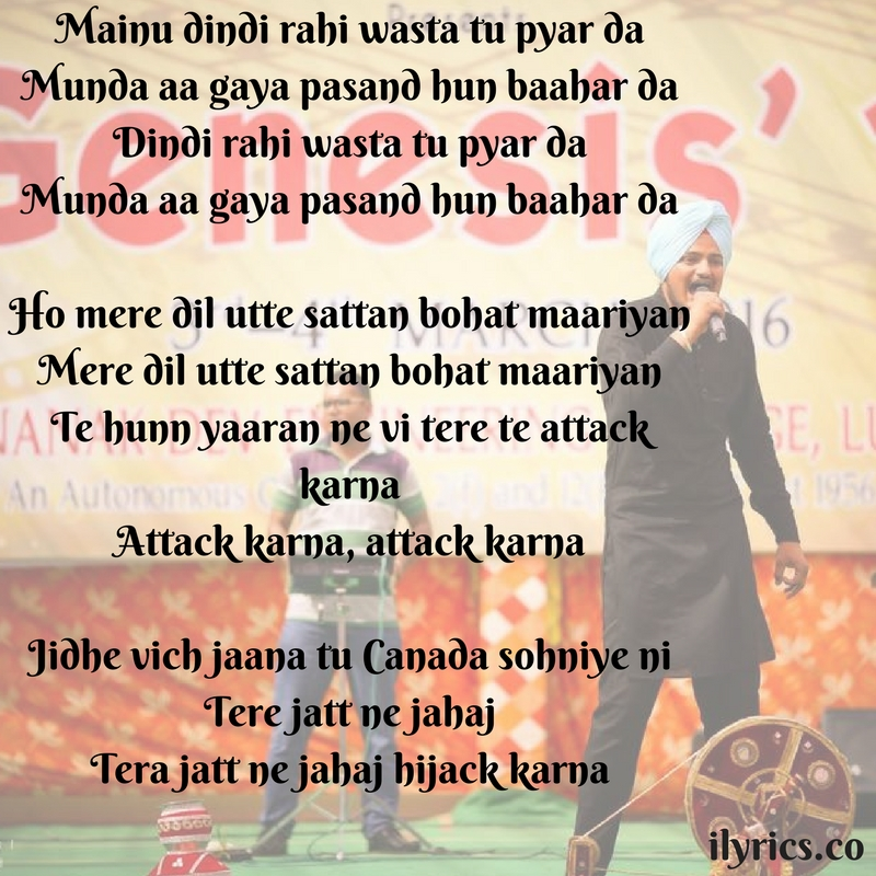hijack lyrics