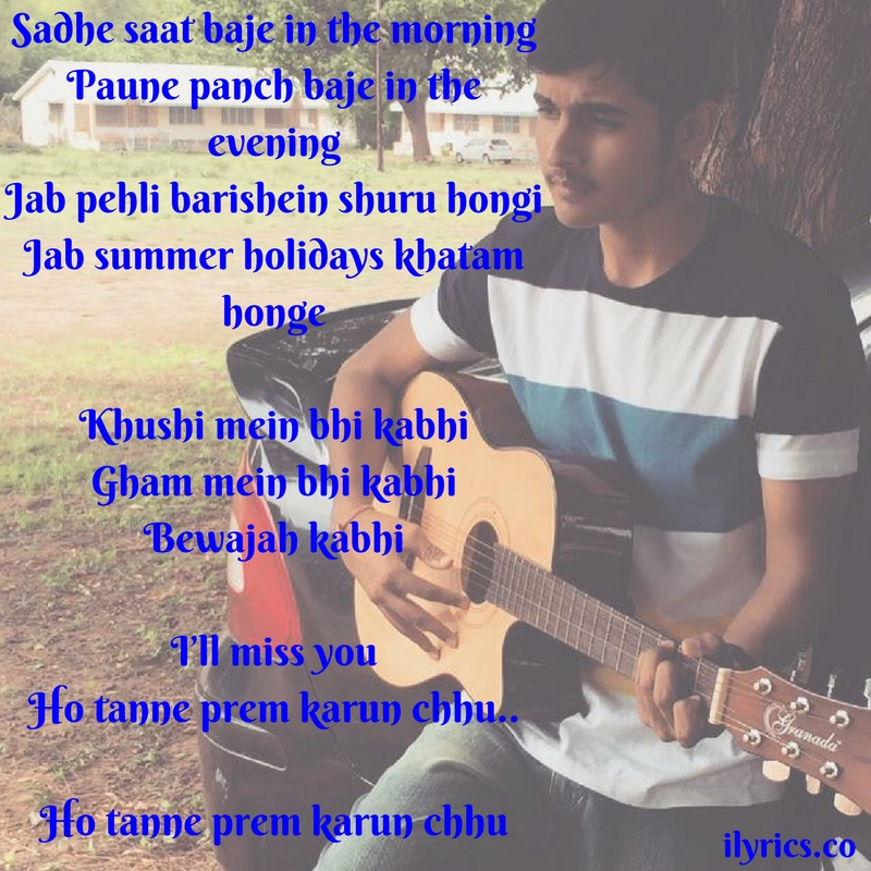 missing you songtext