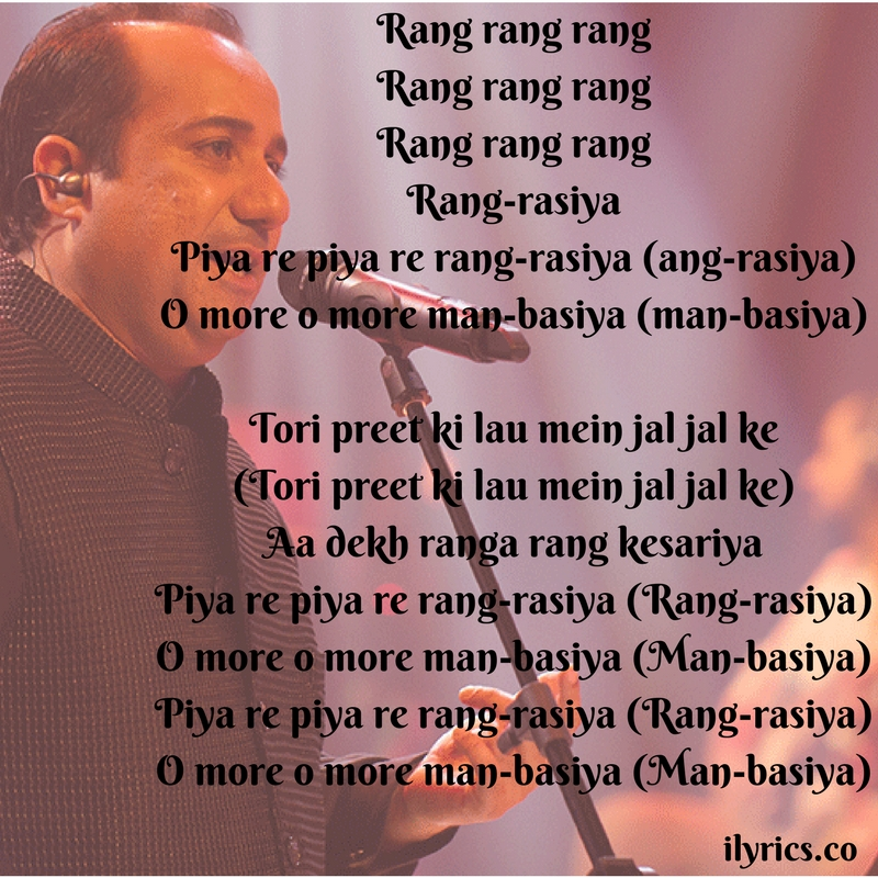 rangrez lyrics