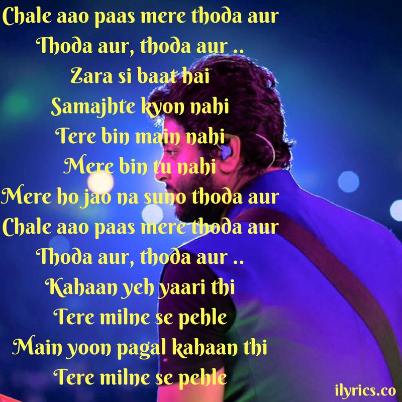 thoda aur lyrics