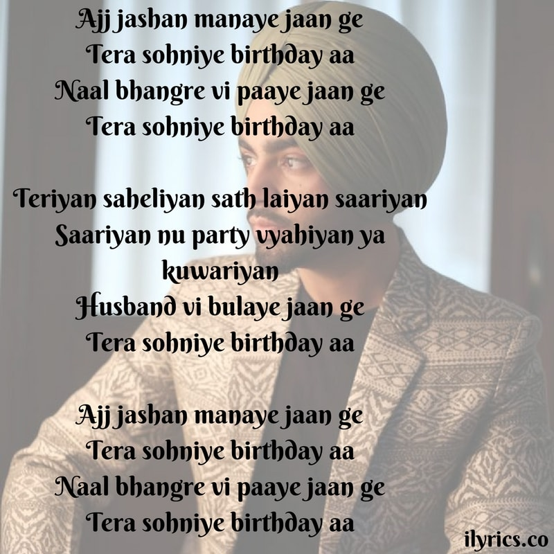 birthday lyrics