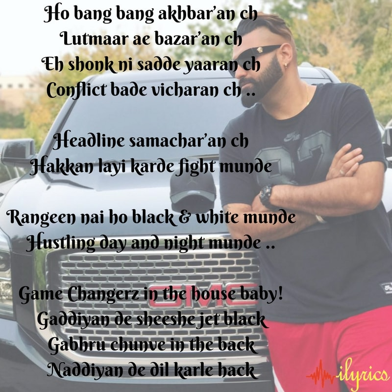 Lyric black lyrics : BLACK & WHITE MUNDE LYRICS - Elly Mangat |