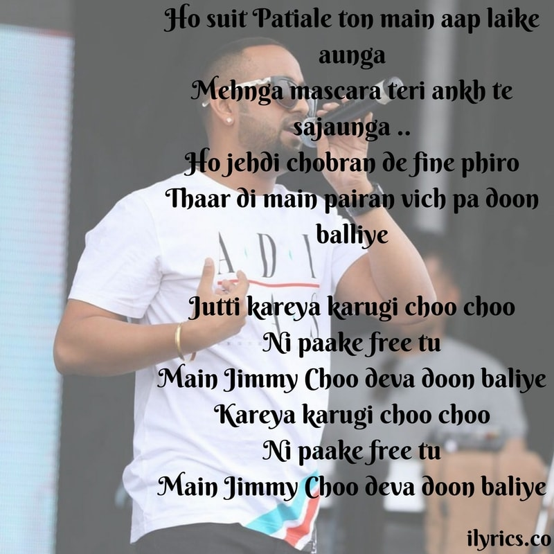 jutti jimmy choo lyrics