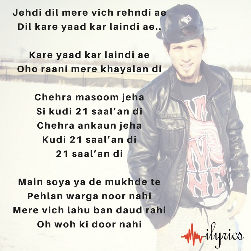 21 saal lyrics