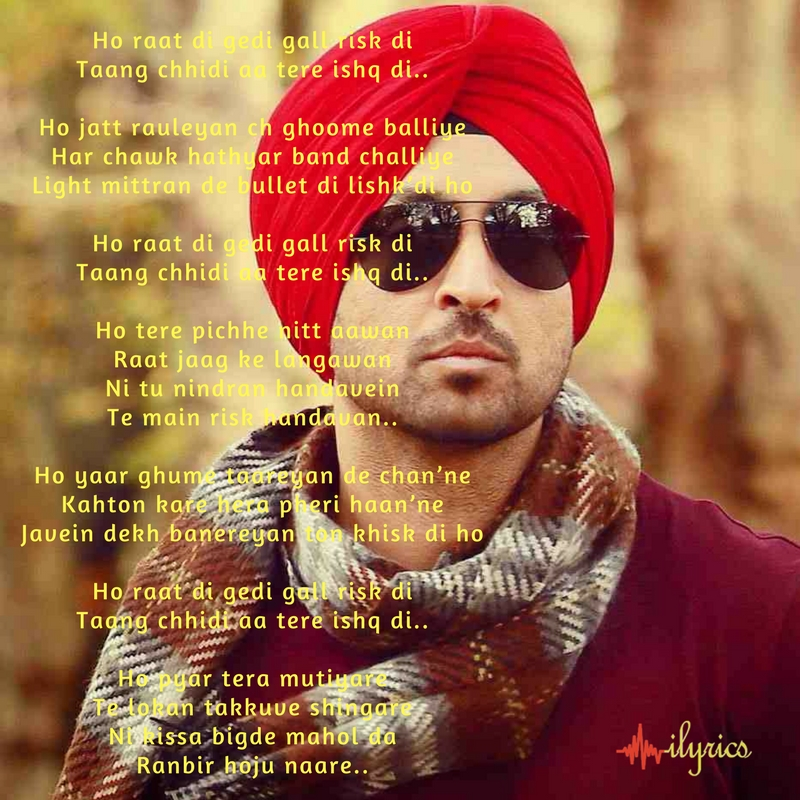 raat di gedi lyrics