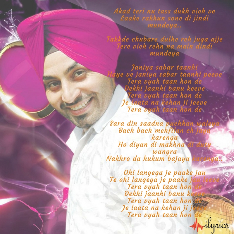 sone di jindi lyrics