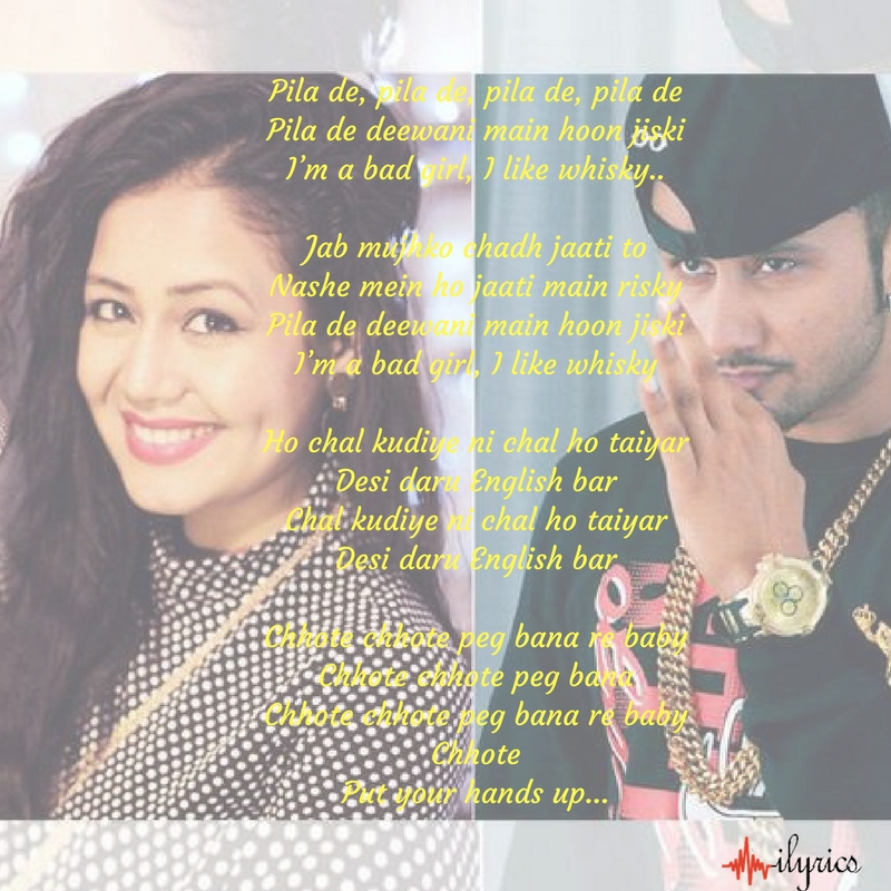 chhote-chhote-peg-lyrics