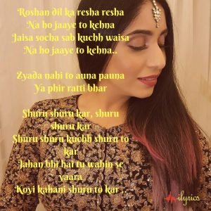 shuru kar lyrics