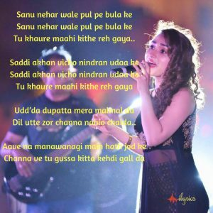 sanu nehar wale lyrics