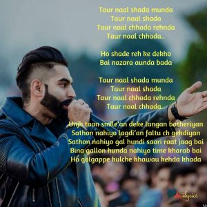 shada lyrics