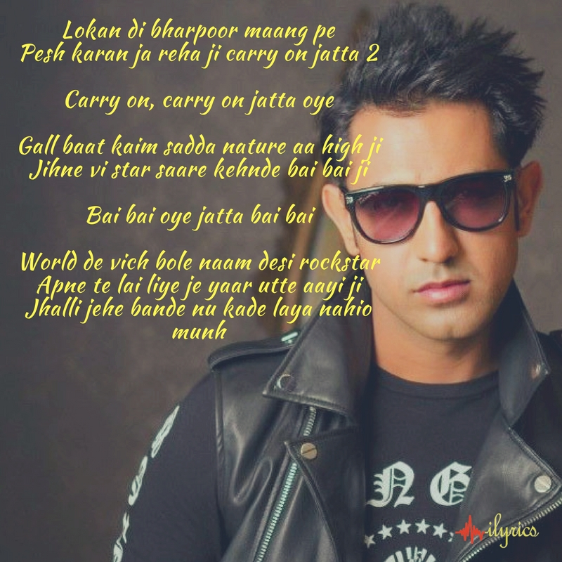 carry on jatta 2 lyrics