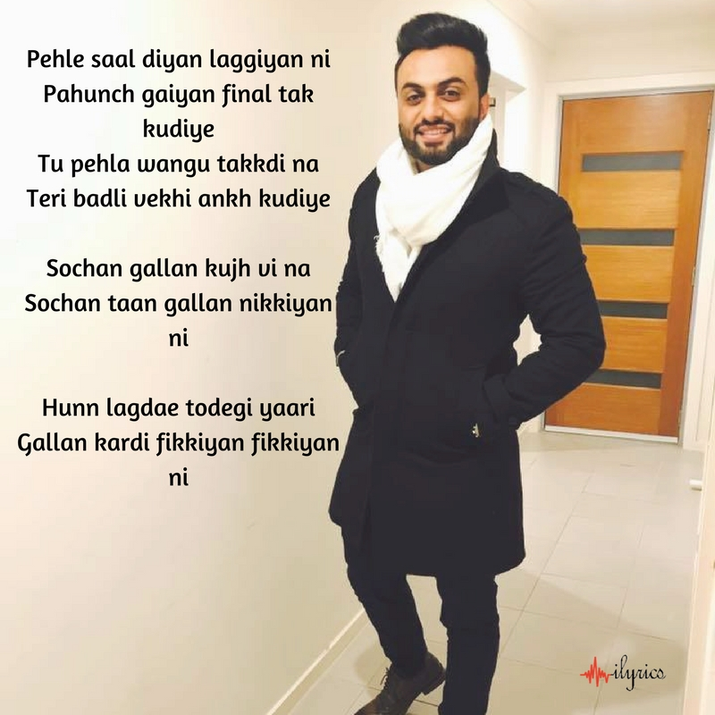 fikkiyan lyrics